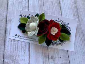 Heartfelt Mini Crown Flower Headband