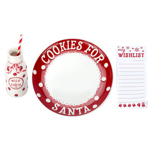 Pearhead Holiday Santa's Cookie Set