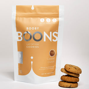 Booby Boons Lactation Cookies Caramel Crunch
