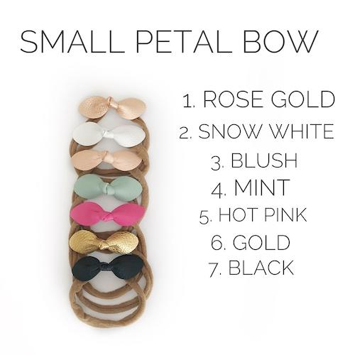 Mighty Mocs Petal Bow Headbands