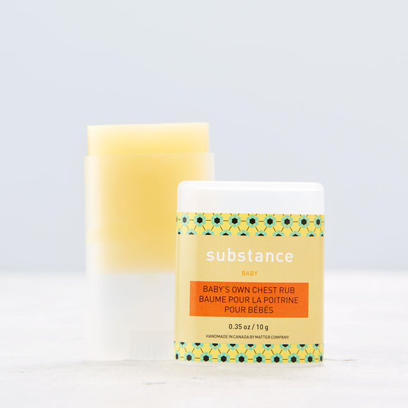 Substance - Baby's Own Chest Rub