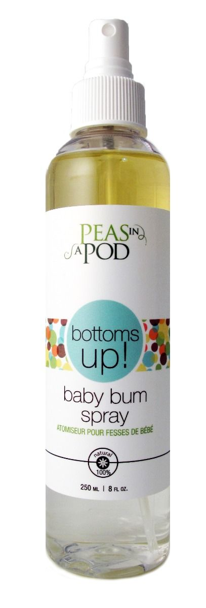 Peas in a Pod - Baby & Me Bottoms Up! Baby Bum Spray 250ml