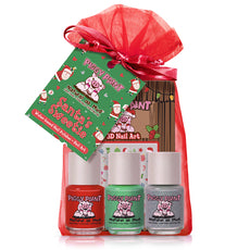 Piggy Paint Nail Polish Santa's Sweetie Gift Set