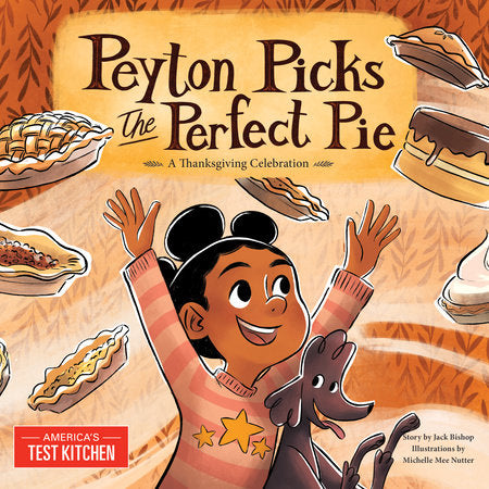 Peyton Picks the Perfect Pie Hard Cover Book