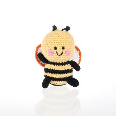 Bee Crochet Rattle