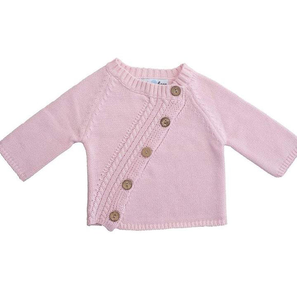 Beba Bean Long Sleeved Cardigan - Pink