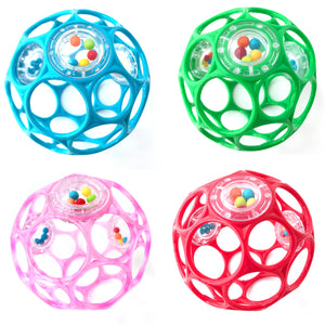 "Oball Rattle 4"" - Assorted"