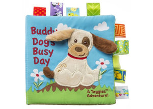 Buddy Dog's Busy Day Taggies Soft Book