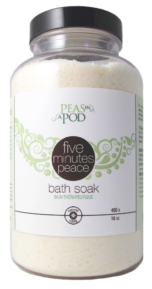 Peas in a Pod - Mom to Be Five Minutes Peace Bath Soak