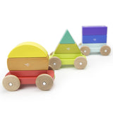 Tegu Magnetic Shape Train Rainbow