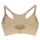 Cake Maternity Cotton Candy Seamless Sleep & Yoga Nursing Bra Beige