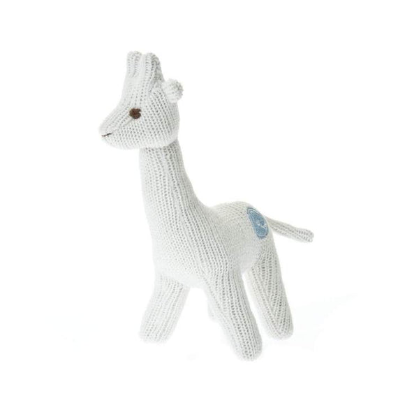 Beba Bean Knit Giraffe Rattle
