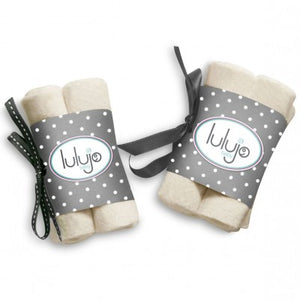 Lulujo Organic Cotton Washcloths
