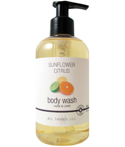 All Things Jill Organic Hand & Body Wash Sunflower Citrus