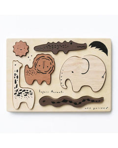 WeeGallery - Wooden Puzzle- safari
