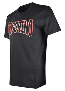 Moschino - Short Sleeves Athletic Moschino Couture Logo T-Shirt - 200025 - Black