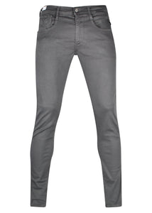 Replay - SLIM FIT HYPERFLEX ANBASS JEANS 5 Pocket - 100032 - Charcoal