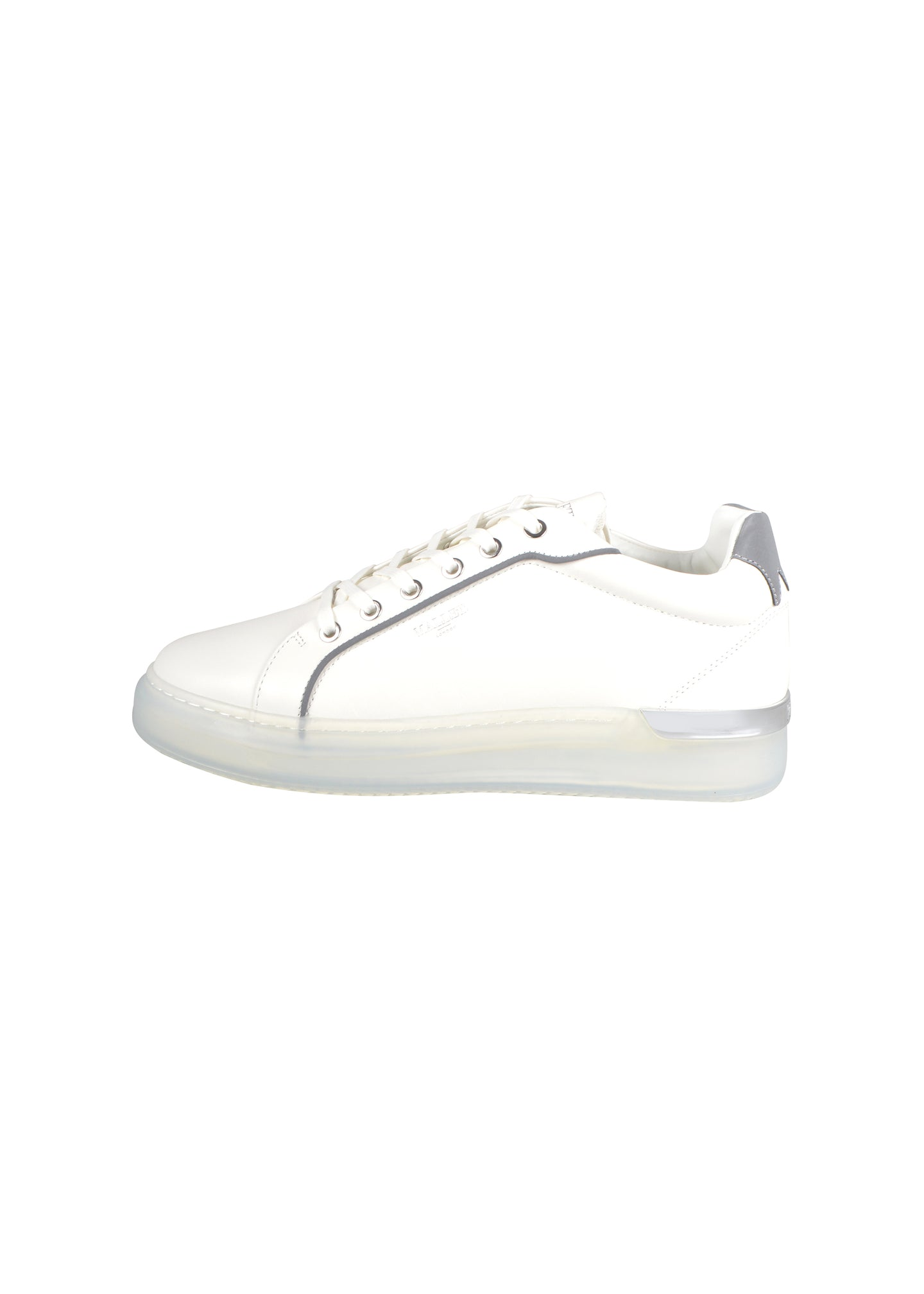 Mallet - New Iconic GRFTR Clear Sole Reflect Trainer - 100510 - White