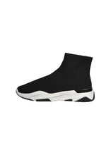 Mallet - Sock Runner Trainer - 099024 - Black White