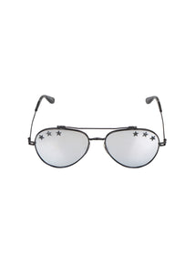 Givenchy - Iconic Aviator Stars Glasses - 097685 - GV7057 - Black