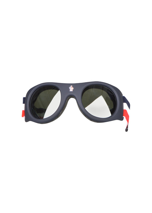 Moncler - Mini SKI Goggles Moncler Branded Strap Detail - 099271 - ML0051 - White