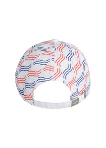 Prada x North Sails - Exclusive 36th America's Cup Wave Pattern Hat - 099536 - White
