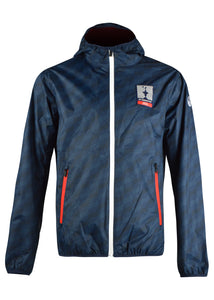 Prada X North Sails - Exclusive 36th America's Cup All Over Print Jacket - 099006 - Navy