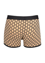 Balmain - Monogram Iconic B All Over Print Boxers - 100159 - CBRLC65130 - Beige