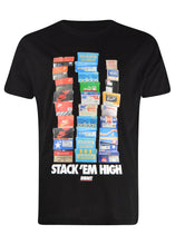 Sneaky - Iconic Stack 'Em High Print T-Shirt - 099506 - Black