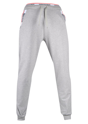 Moschino - Tape Pocket Detail Cuffed Bottom Joggers - 100080 - A4303 8106 - Grey