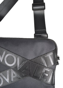 Valentino - Small Cross Body Bag Valentino Multi Logo Strap - 100178 - Black