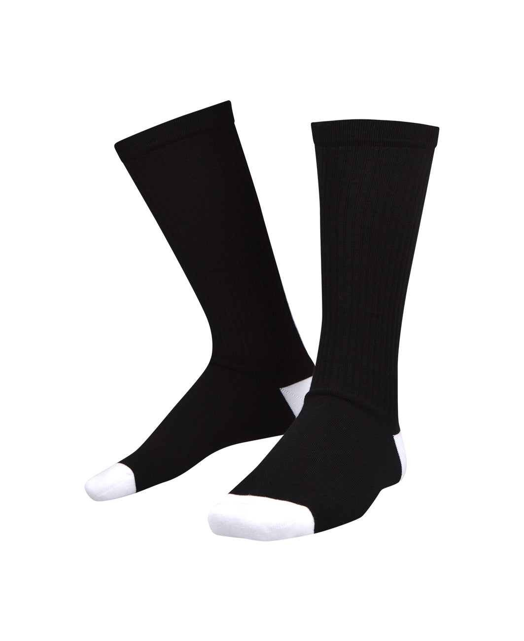 Balmain - Knee Sock Balmain Logo on Back - 099037 - BRV125090 - Black
