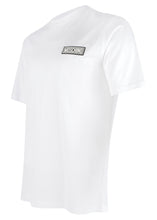 Moschino Couture- Slim Fit Crew Neck T Shirt Rubber Stamp MOSCHINO Badge - 200003 - White