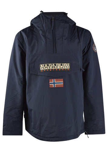 Napapijri - Classic Rainforest Overhead Jacket - 100315 - Navy