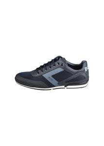 Hugo Boss - Saturn Low Heel Mesh Trainer - 100097 - Navy