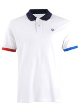 North Sails - Short Sleeves Contrast Collar And Trims Pique Polo - 099521 - White
