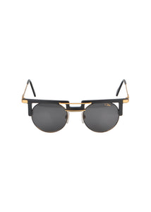 Cazals- Limited Edition Legends Cazals Round Frame Brow Bar - 097804 - Black Gold
