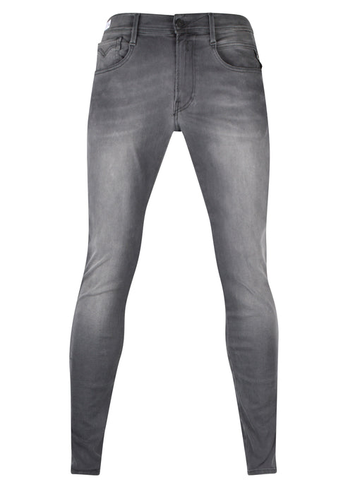 Replay - Slim Fit Hyperflex ReUsed denim - Five Pockets - 100166 - Grey