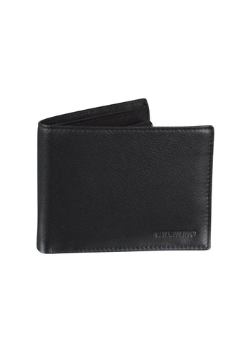 Valentino - Adrian Coin Purse Flap Wallet - 200017 - Black