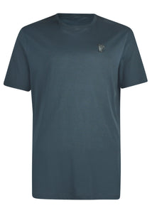 Versace Collection - Short Sleeve Iconic Half Medusa T-Shirt - 095010 - V800683 - Grey