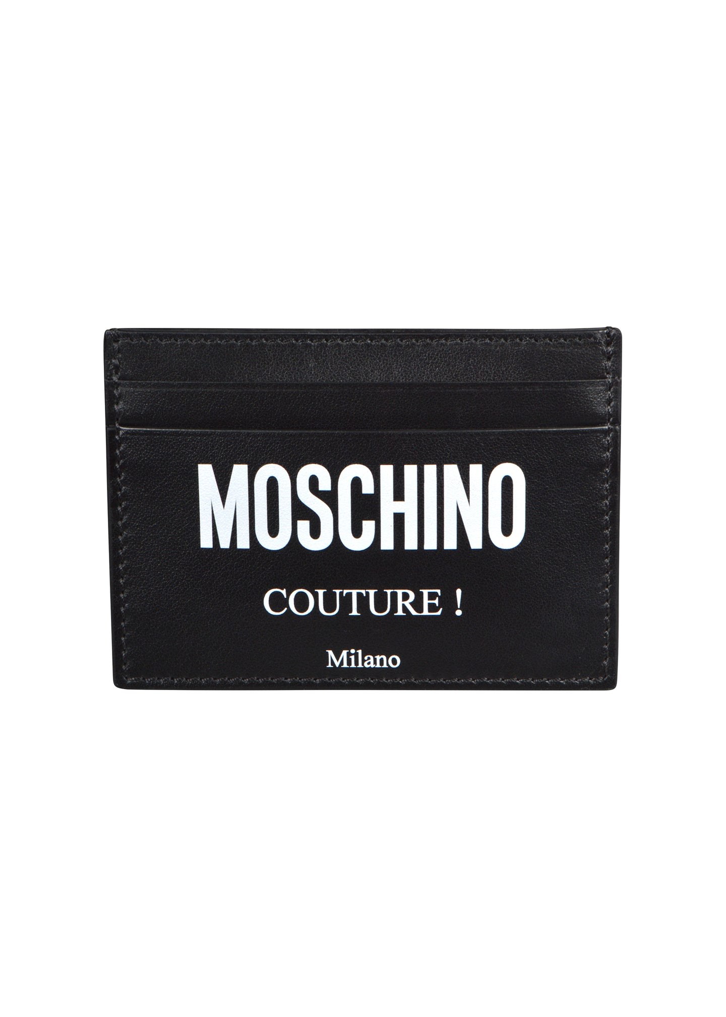 Moschino - Credit Card Holder - 100030 - A81038001 - Black