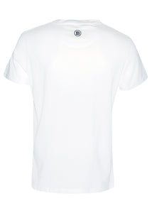 Balmain - Embroidered Balmain Paris Chest Short Sleeve Crew Neck T-Shirt - 100162 - White