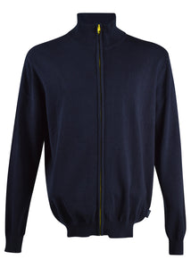 North Sails - Contrast Full Zip Knit - 099522 - Navy