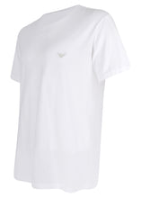 Emporio Armani - Small Embroidered Silver Logo On Chest - 099249 - White