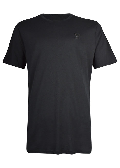 Versace Collection - Classic Iconic Half Medusa Short Sleeve T-Shirt - 097000 - V800683R - Black Black