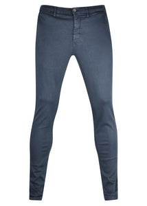 Replay - SLIM FIT ZEUMAR HYPERCHINO COLOUR JEANS Stretch Cotton - Navy