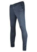 Replay - SLIM FIT ZEUMAR HYPERCHINO COLOUR JEANS Stretch Cotton - 100071 - Navy
