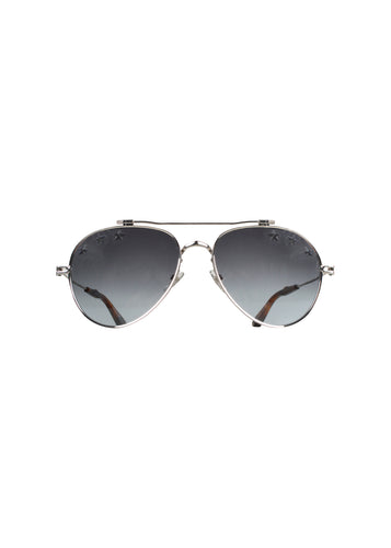 Givenchy - Iconic Aviator Stars Glasses - 097685 - GV7057 - Silver