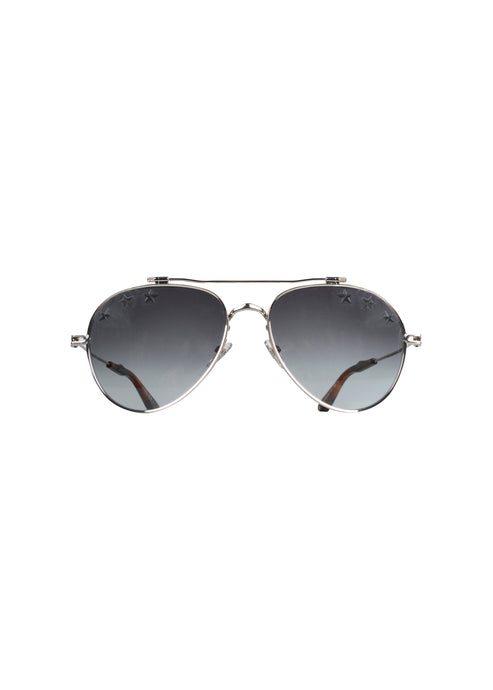 Givenchy - Iconic Aviator Stars Glasses - GV7057 - Silver