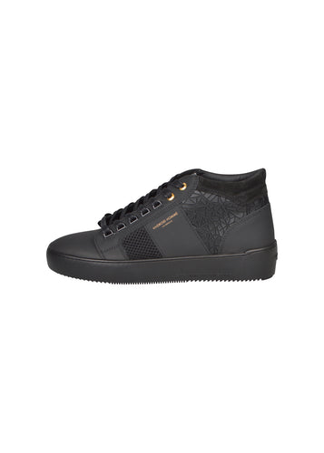 Android Homme - Propulsion Mid Top Black Rubber Mosaic - 100065 - Black